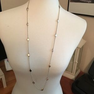 Robert Lee Morris Watermelon Seed Chain Necklace